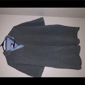 Men's Grey Tommy Hilfiger Polo